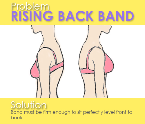 bra backband problem