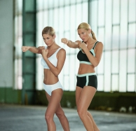 The Anita Extreme Control Sports bra is encapsulated and limits movement up to 74%. Protect your self and run with one!